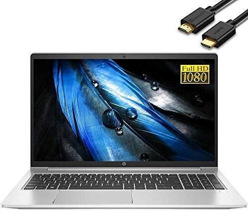 "2021 HP ProBook 450 G8 15.6"" IPS FHD 1080p Enterprise Laptop computer (Intel Quad-Core i5-1135G7 (Beats i7-8565U), 32GB RAM, 1TB PCIe SSD) Backlit, Sort-C, RJ-45, Webcam, Home windows 10 Professional + IST HDMI Cable 1"