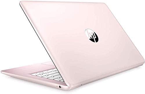 "2021 HP Stream 14"" HD Thin and Light Laptop, Intel Celeron N4000 Processor, 4GB RAM, 64GB eMMC, HDMI, Webcam, WiFi, Bluetooth, 1 Year Microsoft 365, Windows 10 S, Rose Pink, W/ IFT Accessories 1"