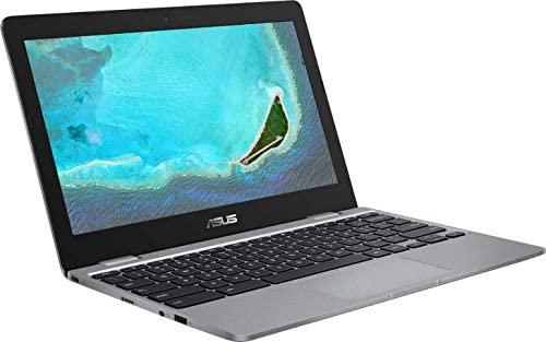 2021 Newest Asus Chromebook 11.6 Inch Laptop, Intel Celeron N3350 up to 2.4 GHz, 4GB RAM, 16GB eMMC, WiFi, Bluetooth, Webcam, Chrome OS + NexiGo 128GB MicroSD Card Bundle 1