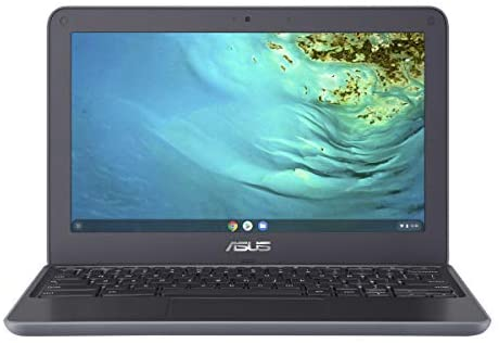 2021 Newest Asus Chromebook 11.6 Inch Laptop, MediaTek MT8173C 2.1GHz, 4GB RAM, 32GB eMMC, WiFi, Bluetooth, Webcam, Chrome OS + NexiGo 32GB MicroSD Card Bundle 1
