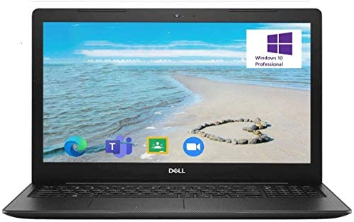 2021 Newest Dell Inspiron 3000 Laptop, 15.6 HD Display, Intel Pentium Gold 5405U Processor 8GB RAM, 128GB SSD Windows 10 Pro, Online Meeting, Business and Student Webcam, Black 1