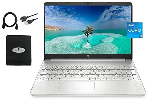 2021 Newest HP 15.6 FHD IPS Flagship Laptop, 11th Gen Intel 4-Core i5-1135G7(Up to 4.2GHz, Beat i7-1060G7), 16GB RAM, 512GB PCIe SSD, Iris Xe Graphics, Fast Charge, WiFi, Lightweight,w/GM Accessories 1