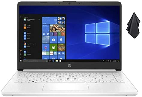 2021 Newest HP Stream 14-inch HD Non-Touch Laptop, Intel 2-Core N4020 up to 2.8 GHz, 4 GB RAM, 64 GB eMMC, WiFi, Webcam, Bluetooth, Windows 10 S with Office 365 Personal for 1 Year + Oydisen Cloth 1