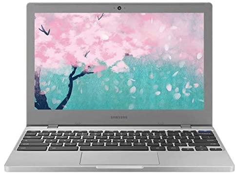 2021 Newest Samsung Chromebook 4 11.6 Inch Laptop, Intel Celeron N4000 up to 2.6 GHz, 4GB LPDDR4 RAM, 32GB eMMC, WiFi, Bluetooth, Webcam, Chrome OS + NexiGo 32GB MicroSD Card Bundle 1