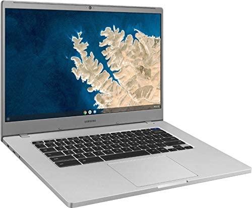 2021 Samsung Chromebook 15.6 Inch Laptop  FHD 1080P Display  Intel Celeron N4000 up to 2.6 GHz  4GB RAM  128GB eMMC  Bluetooth  Chrome OS + NexiGo 128GB MicroSD Card Bundle 1