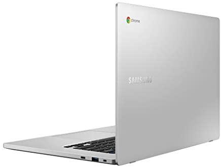 """SAMSUNG XE350XBA-K01US Chromebook 4 + Chrome OS 15.6"""" Full HD Intel Celeron Processor N4000 4GB RAM 32GbEmmc Gigabit Wi-Fi, Silver 12"""