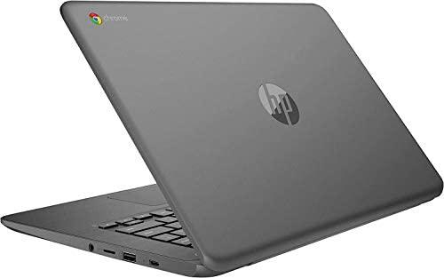 2021 HP Chromebook 14-inch Touchscreen Laptop Computer, Intel Celeron N3350, 4 GB RAM, 160GB Space(32 GB eMMC+128GB MicroSD), Chrome OS, WiFi, Webcam, USB Type-C, Bluetooth, 10 Hrs Battery+AlleFlex MP 4