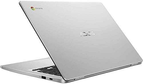"Asus C423NA Chromebook 14"" HD Laptop (Intel Dual Core Celeron Processor N3350, 4GB DDR4 RAM, 64GB SSD) Webcam, WiFi, Bluetooth, Type-C, Google Chrome OS - Silver (Renewed) 8"