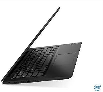 """2021 Newest Lenovo Ideapad 3 Premium Laptop, 14"""" HD Display, Intel Pentium Gold 6405U 2.4 GHz, 8GB DDR4 RAM, 128GB NVMe M.2 SSD, Bluetooth 5.0, Webcam, WiFi, HDMI, Windows 10 S, Black + Oydisen Cloth 6"""