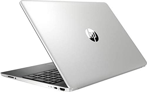 Newest HP 15.6inch Lightweight Laptop, Intel Quad-Core i5-1035G1 Processor Up to 3.60 GHz, 8GB DDR4 RAM, 256GB SSD + 16GB Optane, HDMI, Bluetooth, Win 10-Silver (Renewed) 5