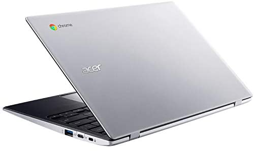 "Acer Chromebook 311 11.6"" Laptop Computer, Intel Celeron N4020 up to 2.8GHz, 4GB LPDDR4 RAM, 32GB eMMC, 802.11AC WiFi, Bluetooth 4.1, Webcam, Remote Work, Pure Silver, Chrome OS, iPuzzle Type-C HUB 8"