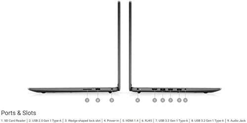 2021 Newest Dell Inspiron 3000 Laptop, 15.6 HD Display, Intel Pentium Gold 5405U Processor 8GB RAM, 128GB SSD Windows 10 Pro, Online Meeting, Business and Student Webcam, Black 6