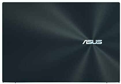 "ASUS ZenBook Pro Duo UX581 Laptop, 15.6"" 4K UHD NanoEdge Touch Display, Intel Core i7-10750H, 16GB RAM, 1TB PCIe SSD, GeForce RTX 2060, ScreenPad Plus, Windows 10 Pro, Celestial Blue, UX581LV-XS74T 5"