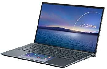 "ASUS ZenBook 14 Ultra-Slim Laptop 14"" FHD NanoEdge Bezel Display, Intel Core i7-1165G7, NVIDIA MX450, 16GB RAM, 512GB SSD, ScreenPad 2.0, Thunderbolt 4, Windows 10 Pro, Pine Grey, UX435EG-XH74 4"