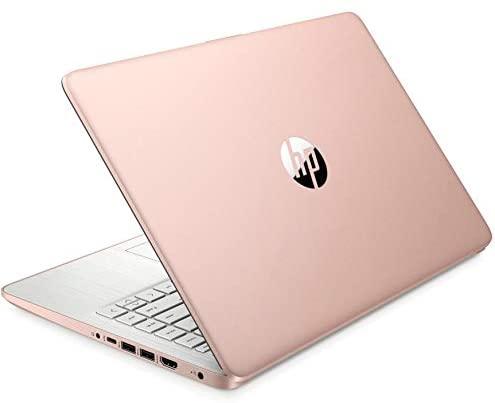 "2021 HP Laptop computer 14 Premium Pc I 14"" Diagonal HD Show I Intel Celeron N4020 I 4GB DDR4 64GB eMMC + 128GB SD Card I Intel UHD Graphics 600 I USB-C HDMI Wifi5 Win10 + Delca 32GB MicroSD Card 6"