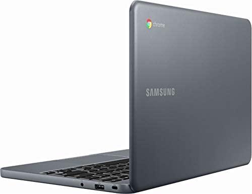 "Samsung Chromebook 3 XE501C13-K01US, Intel Dual-Core Celeron N3060, 11.6"" HD, 2GB DDR3, 16GB eMMC, Night Charcoal 6"
