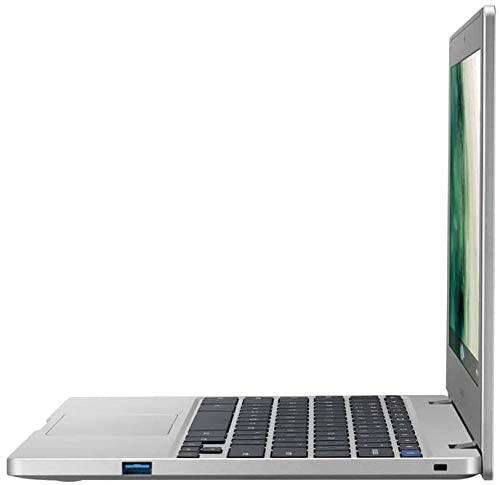 """Samsung Chromebook 4, 11.6"""" HD Laptop, Intel Celeron N4000, 4GB RAM 64GB eMMC,Gigabit Wi-Fi, Webcam, Bundled with TSBEAU USB LED Light & 4-Port USB 3.0 Hub & 32GB Micro SD Card 5"""