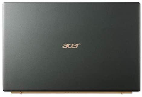 "Acer Swift 5 Intel Evo Thin & Light Laptop, 14"" Full HD Touch, Intel Core i7-1165G7, Intel Iris Xe Graphics, 16GB LPDDR4X, 1TB NVMe SSD, Wi-Fi 6, FPR, Back-lit KB, Antimicrobial, SF514-55TA-74EC 17"