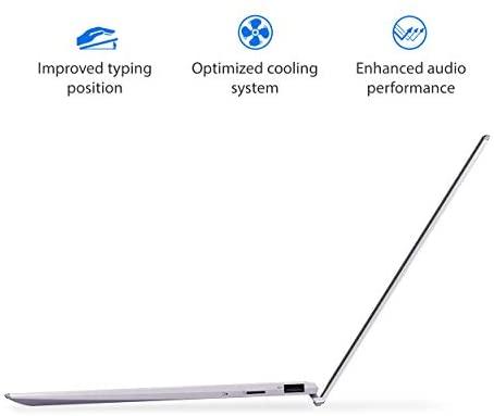 "ASUS ZenBook 13 Ultra-Slim Laptop 13.3"" Full HD NanoEdge Bezel Display, Intel Core i5-1035G1 Processor, 8GB RAM, 256GB PCIe SSD, NumberPad, Windows 10 Home, Lilac Mist, UX325JA-AB51 5"