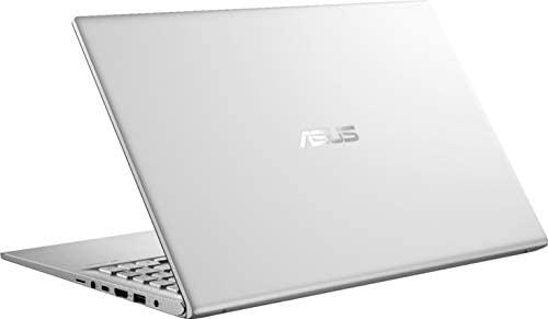 "2020 ASUS VivoBook 15 15.6"" FHD Laptop computer Pc, AMD Ryzen 5-3500U Processor, 12GB RAM, 512GB PCIe SSD, AMD Radeon Vega 8 Graphics, Webcam, HDMI, USB-C, Home windows 10, Silver, 32GB Snow Bell USB Card 8"