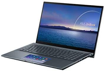 "ASUS ZenBook 15 Ultra-Slim Laptop, 15""FHD Touch Display, Intel Core i7-10750H, GeForce GTX 1650 Ti, 16GB RAM, 1TB SSD, Innovative ScreenPad 2.0, Thunderbolt 3, Windows 10 Pro, Pine Grey, UX535LI-XH77T 4"