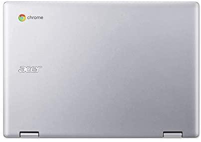 "2020 Acer Chromebook Spin 311 2-in-1 11.6"" HD Touchscreen Laptop Computer, Intel Celeron N4000, 4GB RAM, 64GB eMMC, Intel UHD Graphics 600, Wi-Fi, Bluetooth, USB-C, Chrome OS, Silver, 128GB USB Card 9"