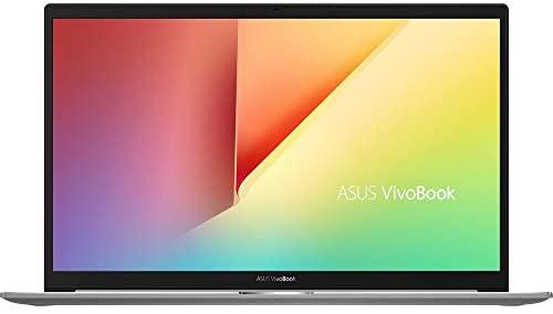 "ASUS VivoBook S15 Thin and Light Laptop, 15.6"" Full HD Screen, Intel Core i5-10210U Processor, 8GB RAM, 512GB SSD, Webcam, WiFi-6, Backlit KB, Fingerprint Reader, Win 10 Home, Red, KKE Stickers Bundle 3"