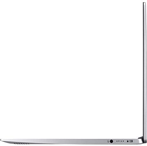 """Acer Swift 5 15.6"""" Extremely-Skinny & Light-weight Laptop computer, FHD Touchscreen, Intel Core i7-8565U, IPS, Again-lit Keyboard, Home windows 10, Silver (16GB RAM   512GB PCIe SSD + 512GB SSD) 5"""