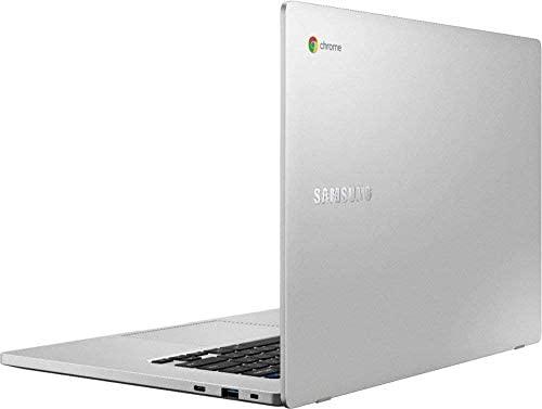 "Samsung Chromebook 15.6"" FHD Laptop, FHD 1080P Display, Intel Celeron N4000, 4GB RAM, 32GB eMMC, Google Class Room Ready , Chrome OS, Platinum Titan, with TSBEAU USB Hub & 256GB Micro SD Card 4"