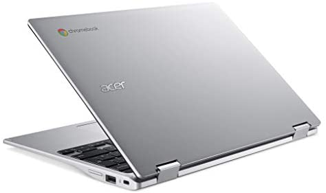 """Acer Convertible Chromebook Spin 311, 11.6"""" HD IPS Touch, MediaTek MT8183 Processor, 4GB RAM, 32GB eMMC, Chrome OS, Silver, CP311-3H-K4S1 8"""
