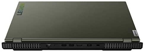 "Lenovo Legion 5 15.6"" LED-Backlit Antiglare FHD Gaming Laptop 10th Gen Intel Core i7-10750H 16GB RAM 1TB HDD + 512GB NVMe SSD 6GB NVIDIA GeForce GTX 1660Ti Windows 10 Home - Moss Green 4"