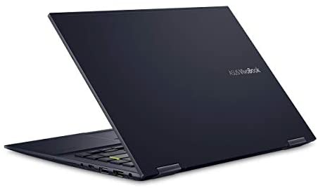 "ASUS VivoBook Flip 14 Thin and Light 2-in-1 Laptop, 14"" FHD Touch Display, AMD Ryzen 7 4700U, 8GB DDR4 RAM, 512GB SSD, Glossy, Stylus, Windows 10 Home, Fingerprint Reader, Bespoke Black, TM420IA-DB71T 6"