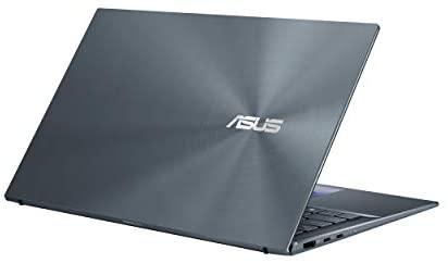 "ASUS ZenBook 14 Ultra-Slim Laptop 14"" FHD NanoEdge Bezel Display, Intel Core i7-1165G7, NVIDIA MX450, 16GB RAM, 512GB SSD, ScreenPad 2.0, Thunderbolt 4, Windows 10 Pro, Pine Grey, UX435EG-XH74 7"