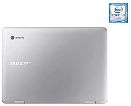 2021 Samsung Chromebook Plus V2 12.2 Inch FHD 1200P Touchscreen 2-in-1 Laptop, Intel Core m3-7Y30, 4GB RAM, 64GB eMMC, WiFi, Webcam, Chrome OS + NexiGo 32GB MicroSD Card Bundle, Pen Included 8