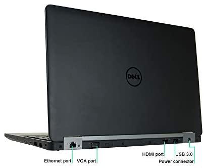 Dell Latitude E5570 15.6in Laptop, Core i5-6300U 2.4GHz, 8GB Ram, 256GB SSD, Windows 10 Pro 64bit (Renewed) 4
