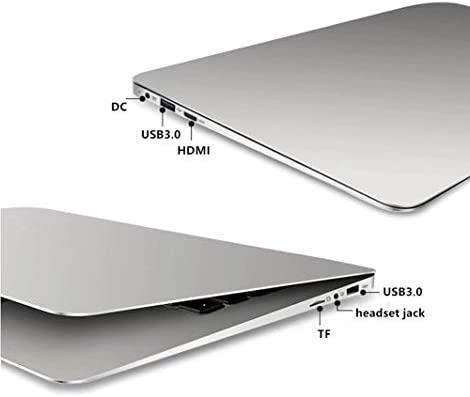 "2019 14"" Laptop - Intel Quad-Core Atom x5 E8000 Processor - 4GB Memory - 64GB Solid State Drive -2PCS 4500mAh Large Capacity Battery Endurance- Ash Silver Keyboard Frame 6"
