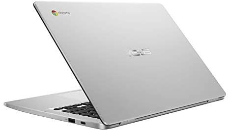 "ASUS Chromebook C423NA-DH02 14.0"" HD NanoEdge display Intel Dual Core Celeron Processor, 4GB RAM, 32GB eMMC storage, silver (Renewed) 3"