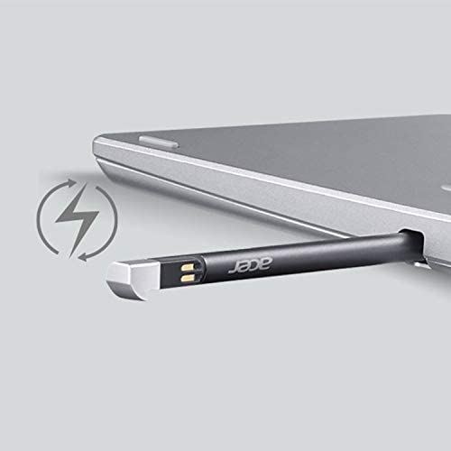 """Acer Spin 3 Convertible Laptop, 14"""" Full HD IPS Touch, 10th Gen Intel Core i5-1035G4, 8GB LPDDR4, 512GB NVMe SSD, WiFi 6, Backlit KB, Fingerprint Reader, Rechargeable Active Stylus, SP314-54N-50W3 7"""