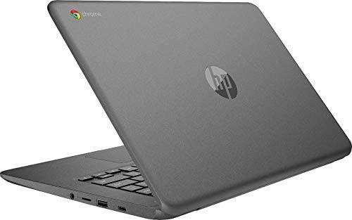 HP Newest 14inch Chromebook AMD Dual-Core A4-9120C Processor, 4GB DDR4 Memory, 32GB eMMC Storage, AMD Radeon R4 Graphics, Chrome OS-Gray(Renewed) 4