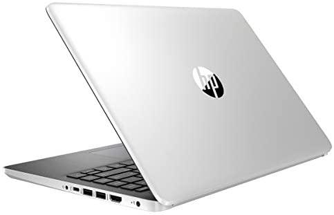 "HP 14 14.0"" FHD Laptop Computer, Intel Quad-Core Pentium Silver N5000 up to 2.7GHz, 4GB DDR4 RAM, 64GB eMMC, 802.11AC WiFi, Webcam, 1-Year Office 365, Online Class Ready, Windows 10 S, BROAGE MousePad 6"
