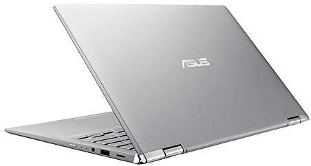 "2021 ASUS 14"" FHD Touchscreen Laptop Computer, AMD Ryzen 5-3500U CPU, 8GB RAM, 256GB SSD, Backlit Keyboard, HD Webcam, HD Audio, AMD Radeon Vega 8 Graphics, Win 10, Silver, 32GB SnowBell USB Card 8"