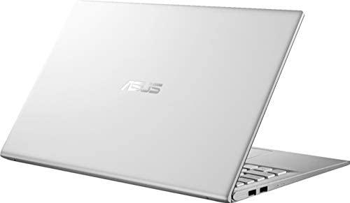 "2020 ASUS VivoBook 15 15.6"" FHD Laptop computer Pc, AMD Ryzen 5-3500U Processor, 12GB RAM, 512GB PCIe SSD, AMD Radeon Vega 8 Graphics, Webcam, HDMI, USB-C, Home windows 10, Silver, 32GB Snow Bell USB Card 7"