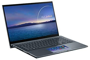 "ASUS ZenBook 15 Ultra-Slim Laptop, 15""FHD Touch Display, Intel Core i7-10750H, GeForce GTX 1650 Ti, 16GB RAM, 1TB SSD, Innovative ScreenPad 2.0, Thunderbolt 3, Windows 10 Pro, Pine Grey, UX535LI-XH77T 3"