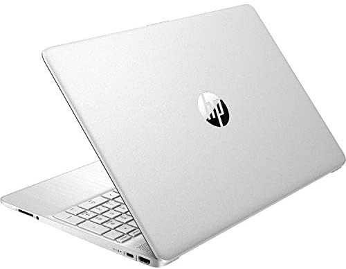 """2021 Newest HP Pavilion Laptop, 15.6"""" HD Touch Display, 11th Gen Intel Core i3-1115G4 Processor (Up to 4.1GHz, Beats i7-8550U), Long Battery Life, Win 10, Silver + Oydisen Cloth (16GB RAM 