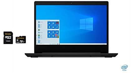 "2020 Newest Lenovo IdeaPad 3 14"" HD Anti-Glare LED-backlit Laptop, Intel Pentium Gold 6405U, 4GB DDR4,128GB NVMe SSD, Webcam, WiFi, Bluetooth, HDMI, Windows 10 Home in S mode, GCube 64GB Micro SD Card 2"