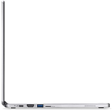 Acer R13 13.3in Convertible 2-in-1 FHD IPS Touchscreen Chromebook - Intel Quad-Core MediaTek MT8173C 2.1GHz, 4GB RAM, 64GB SSD, Bluetooth, HDMI, Chrome OS (Renewed) 8