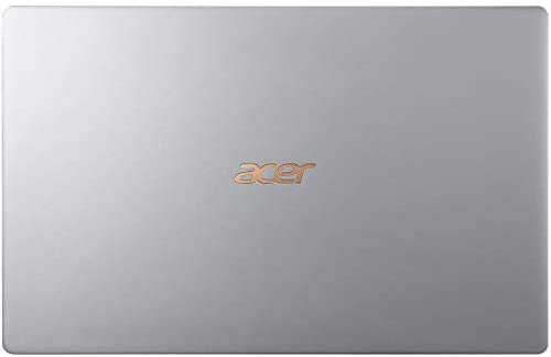 """Acer Swift 5 15.6"""" Extremely-Skinny & Light-weight Laptop computer, FHD Touchscreen, Intel Core i7-8565U, IPS, Again-lit Keyboard, Home windows 10, Silver (16GB RAM   512GB PCIe SSD + 512GB SSD) 7"""