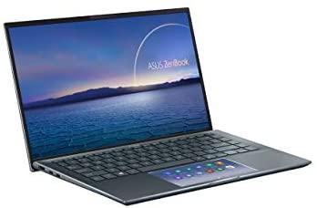 "ASUS ZenBook 14 Ultra-Slim Laptop 14"" FHD NanoEdge Bezel Display, Intel Core i7-1165G7, NVIDIA MX450, 16GB RAM, 512GB SSD, ScreenPad 2.0, Thunderbolt 4, Windows 10 Pro, Pine Grey, UX435EG-XH74 3"