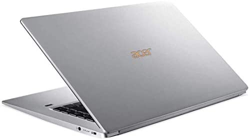 """Acer Swift 5 15.6"""" Extremely-Skinny & Light-weight Laptop computer, FHD Touchscreen, Intel Core i7-8565U, IPS, Again-lit Keyboard, Home windows 10, Silver (16GB RAM   512GB PCIe SSD + 512GB SSD) 4"""