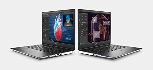 "2021 DELL Precision 7000 7750 17.3"" FHD 1080p Mobile Workstation Business Laptop (Intel 6-Core i7-10750H, 32GB DDR4, 1TB SSD) Wi-Fi 6, Thunderbolt 3, RJ-45, Windows 10 Pro (Renewed) 5"